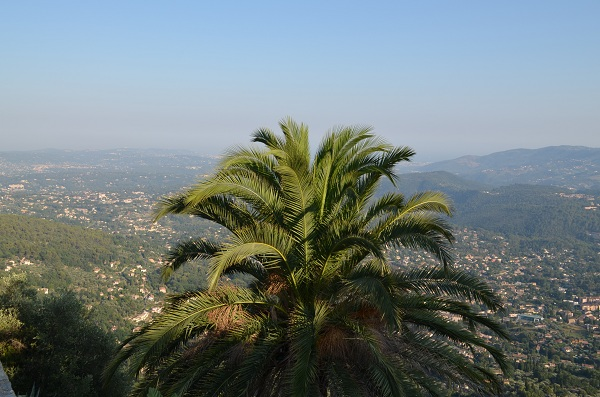 Global view on the French Riviera from Cabris