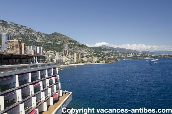 Monaco: des immeubles construits dans l'eau