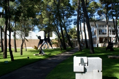 The park of the Maeght Foundation