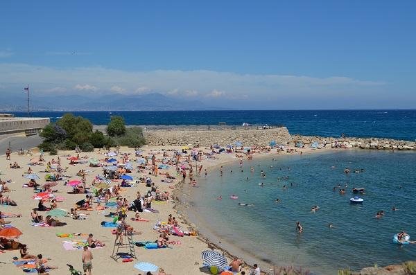 les plages 224 antibes du fort carr 233 de la vieille ville et du cap d antibes