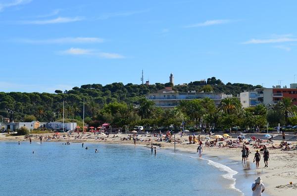 Antibes Ponteil beach
