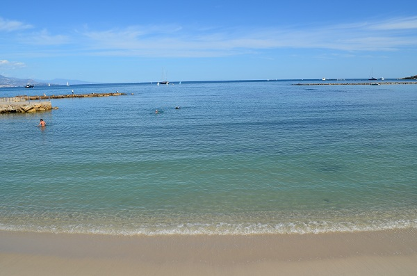 Beach in the Salis area