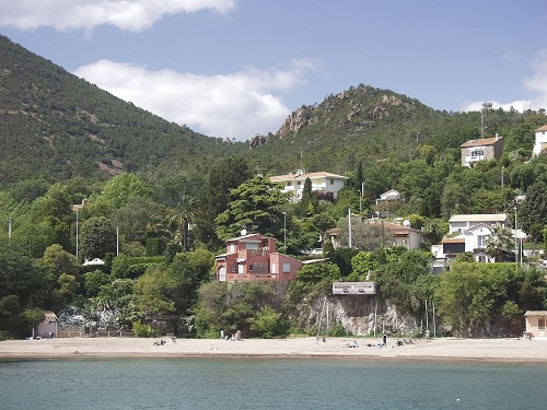 Seaside resort of Theoule sur Mer