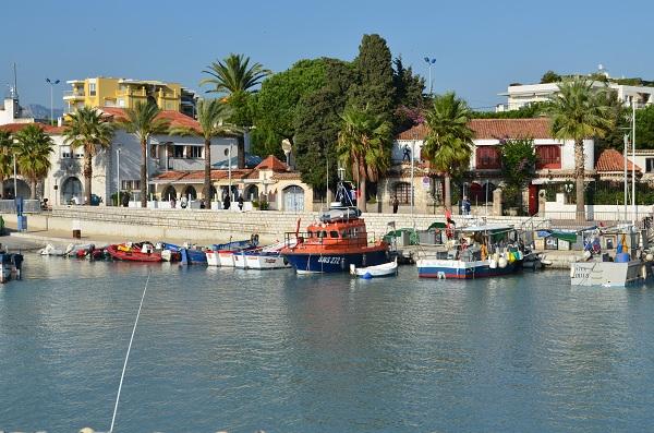 Un quartier typique de Cagnes sur Mer