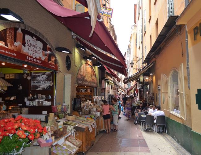Rue Pairolière Vecchia Nizza