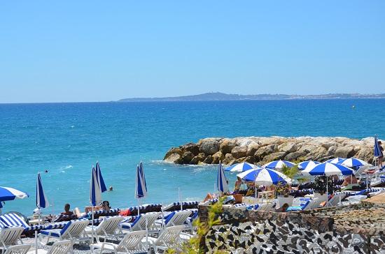 Spiagge private a Cagnes sur Mer