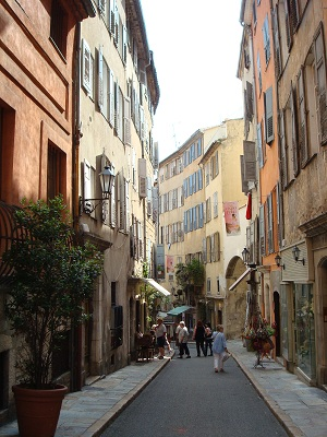 The old town of Grasse