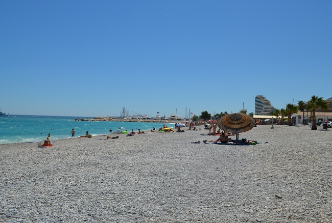 Villeneuve Loubet beach